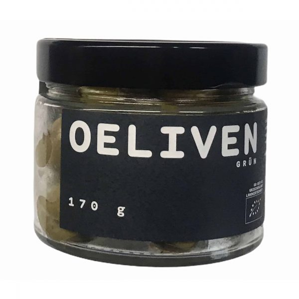 OELIVEBN Bio Oliven grün 170g