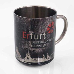 Edelstahltasse Erfurt