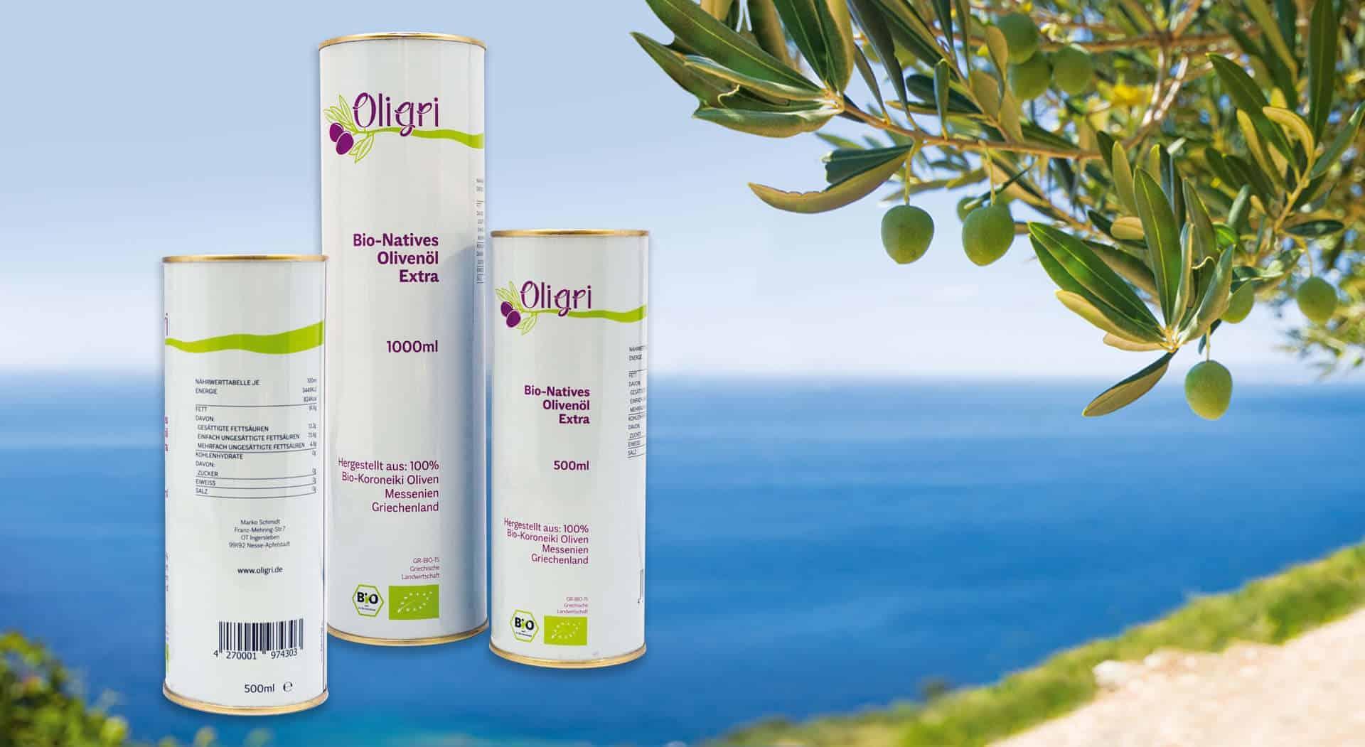Olivenzweig am Strand