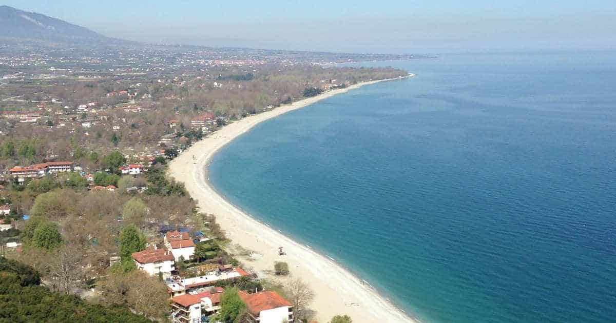 Küste von Panteleimonas
