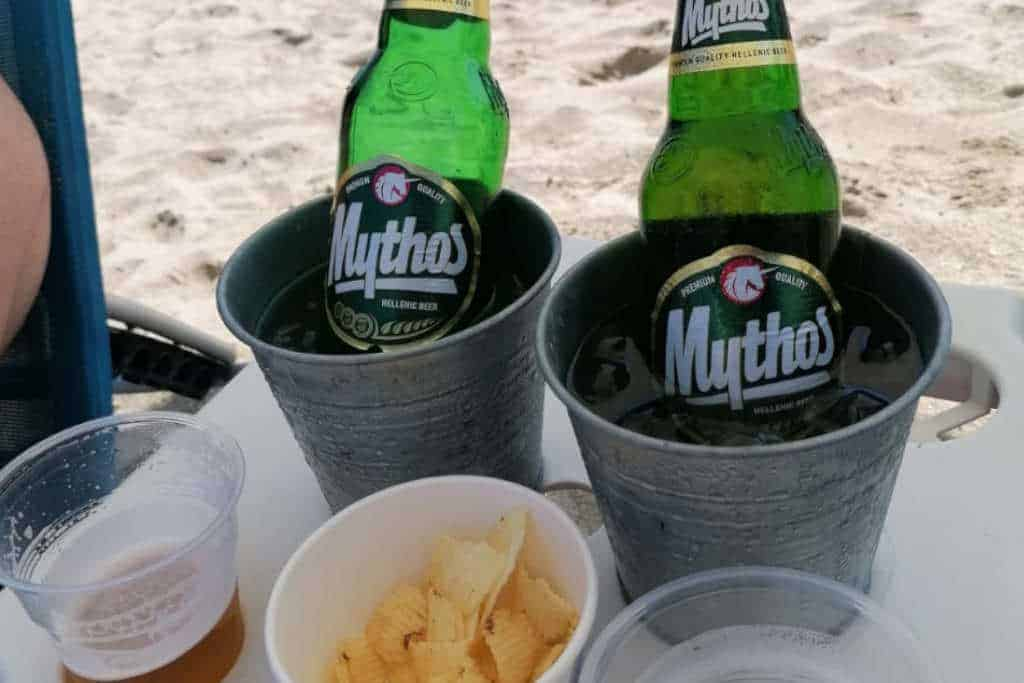 Mythos  Bier am Strand