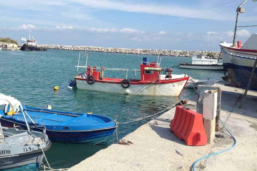 Hafen Platamonas