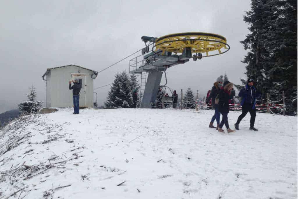 Skigebiet in Griechenland
