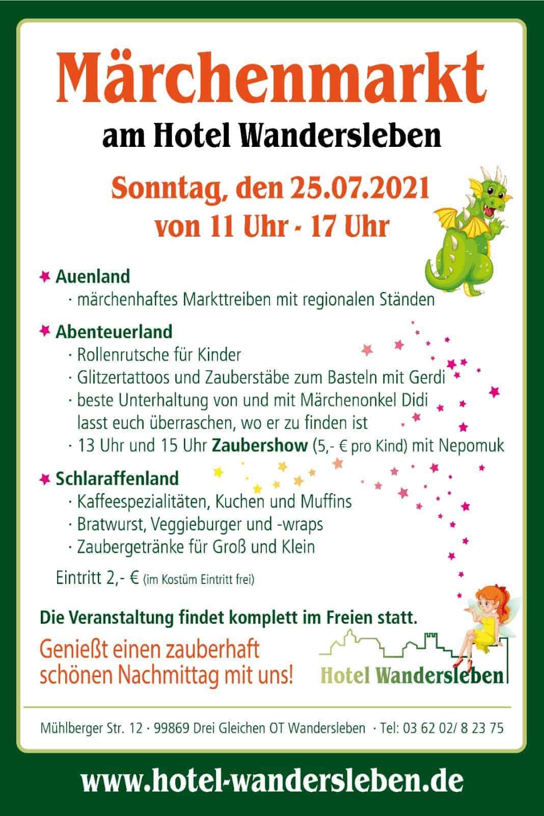 Märchenmarkt Hotel Wandersleben