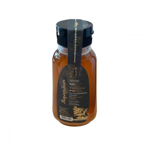 Kretischer Honig Kiefer Wildkräuter und Thymian 500g Maragkakis