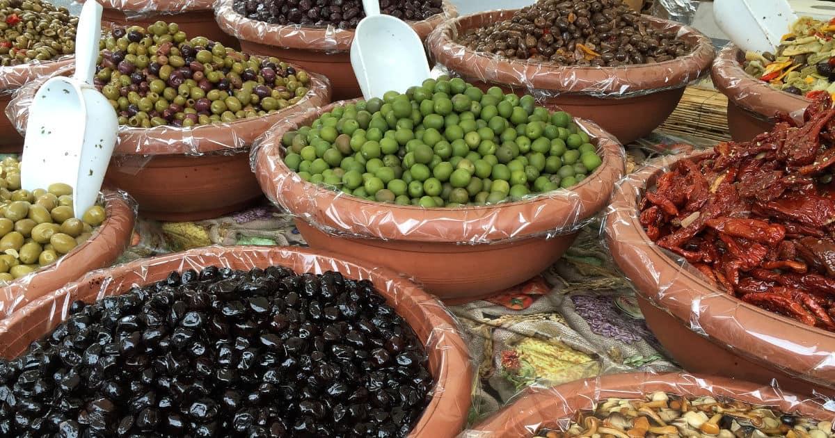 Kategorie Oliven